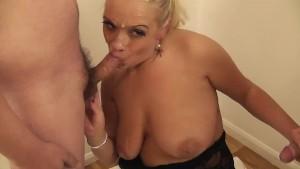 Sookie Blues real bukkake 8 loads spunk - clip- 3 loads cum slut
