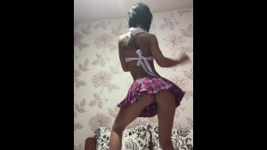 Anisyia livejasmin schoolgirl outfit dancing tease