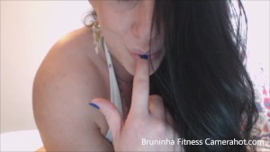 Stunning Brunette model big clit, fingering, sucking - exhibitionist