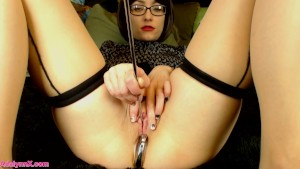 AdalynnX - Thick Sounding Rod Deep In My Urethra