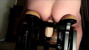 Hot MILF Riding Huge Dildo Fucking Machine