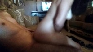 Fucking secretly with my neighbor in the living room