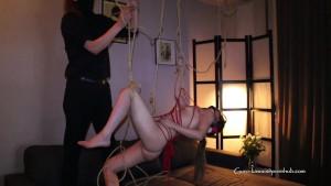 E#6: Dom/Sub - Suspended rope bondage play with my slutty cute sub + fucked