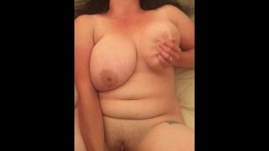 My wife toying her pussy