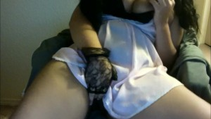 Playing with juicy pussy with lots of dirty talk