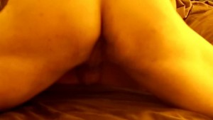 Part 2: Carrie is Fucked in her Torn Panty hoes and takes a Cum shot