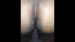 Bbw takes dick from the back