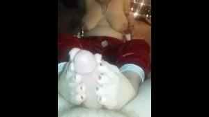 Christmas Eve Footjob