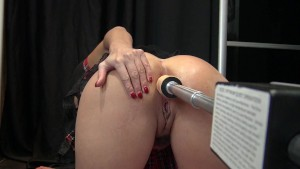 Anal Squirt Fuck Machine in Sweet Little French Asshole by Vic Alouqua