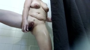 Trinity hot and wet shower scene 1