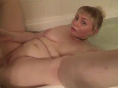 Daddy caught me masturbating in the bath & made me dirty again