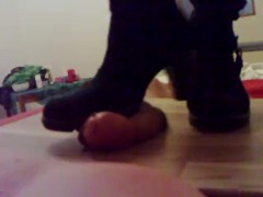 Amateur Pov - Very Cruel Heels Boots Crushing Stomping Cock And Balls