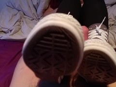Shoejob by high Converse sneakers