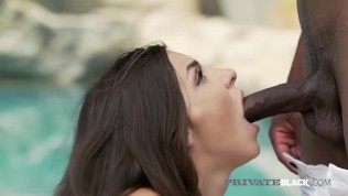Private Black - Anal Loving Alina Henessy Ass Fucked By Big Black Cock!