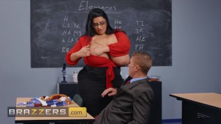 Brazzers - Chubby Latina Milf Sofia Rose Plowed Hard In Multiple Position In Class