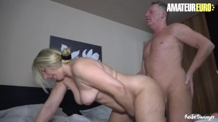 ReifeSwinger - Sweet Susi Mature German Wife Gets Her Fat Pussy Fucked Hard By Old Cock