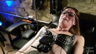 Shock stories belt self bondage