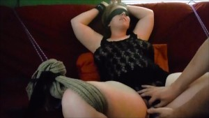 Bound Wife Screaming Orgasm