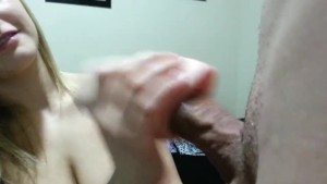 Girlfriend Uses Pocket Pussy on BF