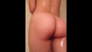 hot 18 year old having a shower