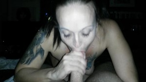 I smoke/Vape while sucking his cock and balls, he eats my ass and pussy