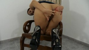 Fooling around on my Rocking Chair