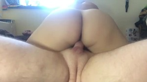 Riding his Hard Cock until we Cum
