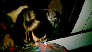 HARD TEEN FACEFACK AND CUMSHOT IN THE PARKING