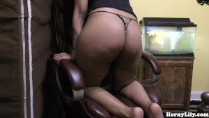 Horny Lily - Dancing and Fucking my Dildo