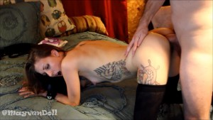 MayvenDoll Ass Fucked Live Anal Fuck Fest