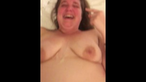 Angry because she got cum covered