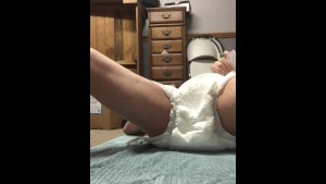 hump masturbate in diaper