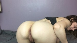 Mary Tries a Huge Dildo and Squirts