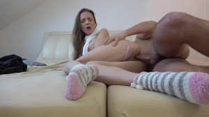 STEPBROTHER FUCK MY WET PUSSY! YUMMY CREAMPIE!
