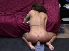 Horny wife cums hard...