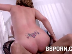 Hot Katie Kox Fuckign With Big Black Cock In Her Butt
