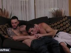 men - Myles Landon, Damien Kyle, Cliff Jensen - Coffee Time