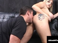 Hot Ass Licked Babe Dayna Vendetta Rimmed Gaped & Tongue Fucked Up Her Butt