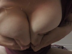 - HD Milf caught flicking&amp;licking huge milky tits wet shirt naughty lactation/><br/>                         <span class=