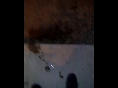 Pissing outside! pee games from fat bbw slut Tiana
