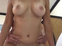 Perfect Asian Tits Bouncing & Cumshot after Fucking (Slow Mo BOOBS!)