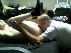 Eating and rimming hot straight boy