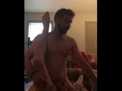 Gargling Jason's Cum While Fucking him Raw