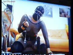 : HARDER Torture of a slut slave - Spiel maschinerie's Skype session ...