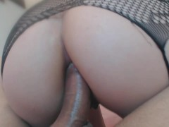 Sister in law gets ass fucked by brother in law and swallow all cum