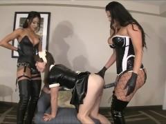 Natalie Mars, Goddess Tangent & Jasmine Mendez and strapon