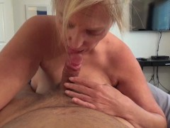 Father's day present - cum on GF face