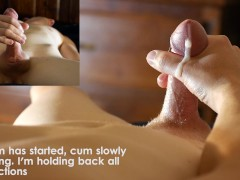 Controlling the throbs, back to back male orgasms