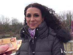 GERMAN SCOUT - Deutsche Mara in sexy Waesche bei Casting Anal gefickt