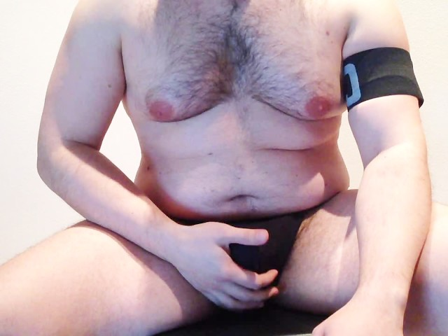 Flauros Bear: Chubby Bear Working Out and Cumming Big Load